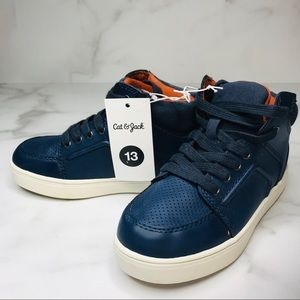 Cat & Jack Navy Marco Navy High Top Sneakers